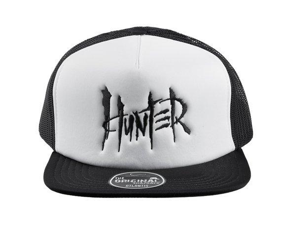 czapka HUNTER white