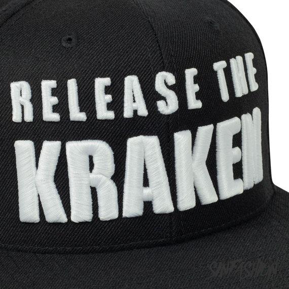 czapka RELEASE THE KRAKEN