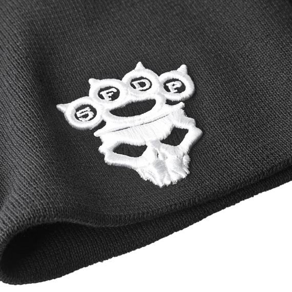 czapka zimowa FIVE FINGER DEATH PUNCH - KNUCKLE-DUSTER LOGO & SKULL