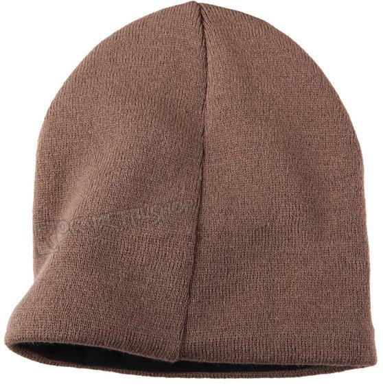 czapka zimowa JESSE JAMES BEANIE jasno brązowa