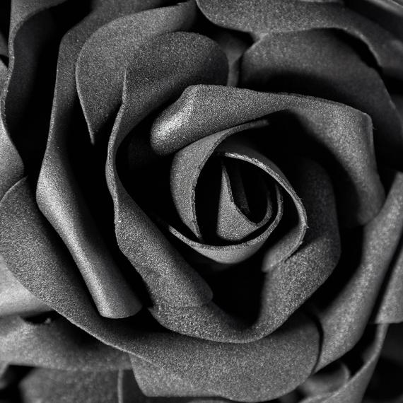 dekoracja wisząca BLACK ROSE