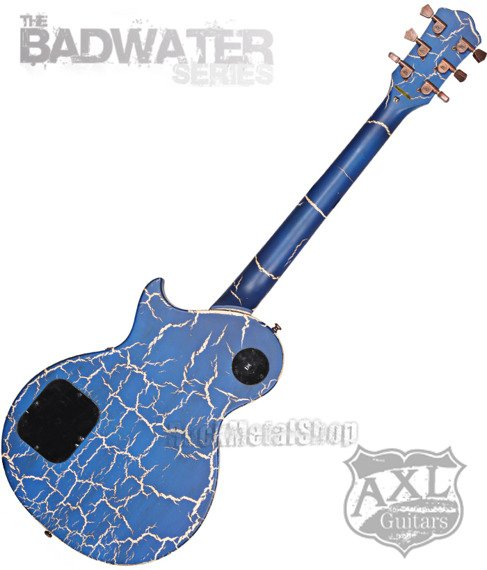 gitara elektryczna AXL BADWATER 1216 / BLUE CRACKLE