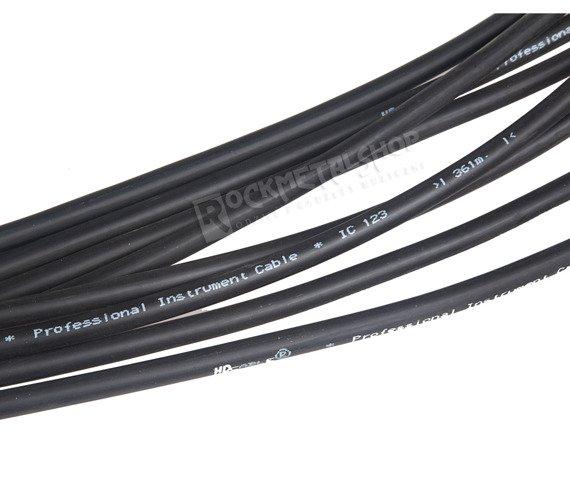kabel gitarowy HD CABLE NEUTRIK jack prosty/prosty 10m