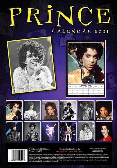 kalendarz PRINCE 2021