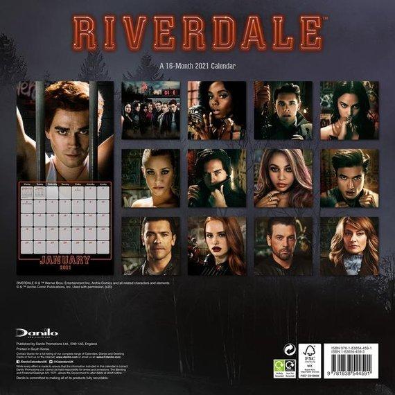 kalendarz RIVERDALE 2021