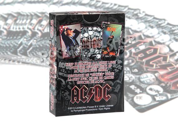 karty do gry AC/DC