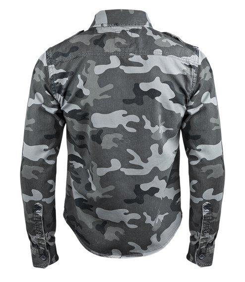 koszula VINTAGE SHIRT LONGSLEEVE greycamo