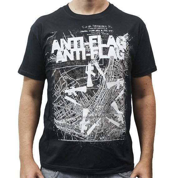 koszulka ANTI FLAG - GUN STAR MAP