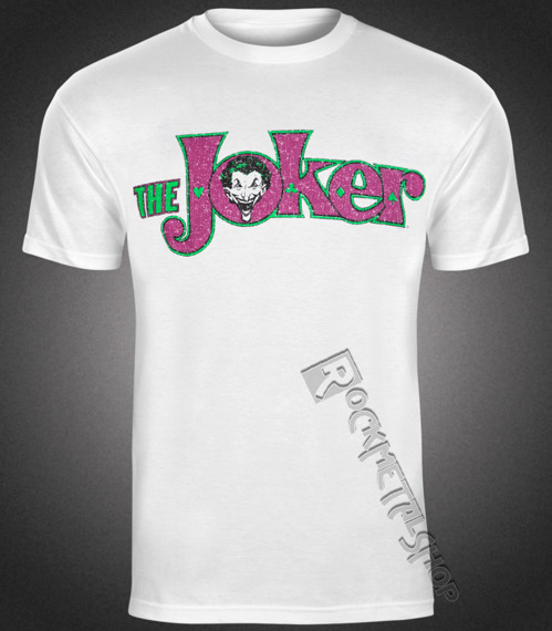 koszulka BATMAN - JOKER CRACKLE