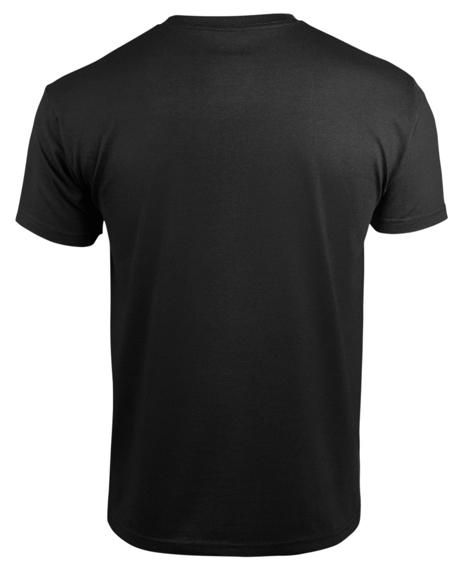 koszulka BLACK HEART - STYLE AND POWER  BLACK