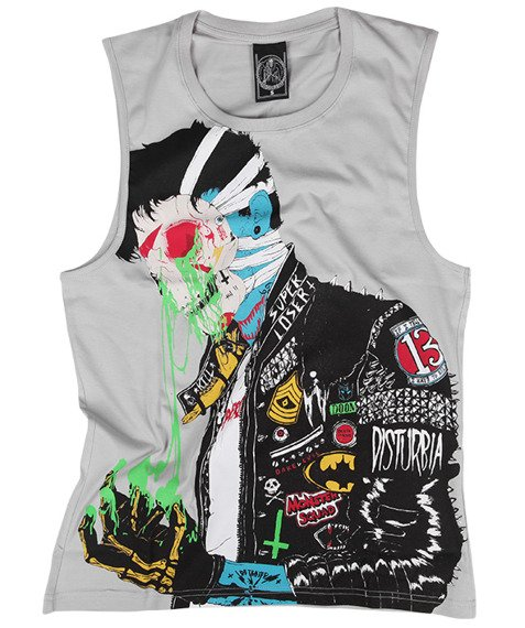 koszulka DISTURBIA - SUPER LOSER SLEEVELESS