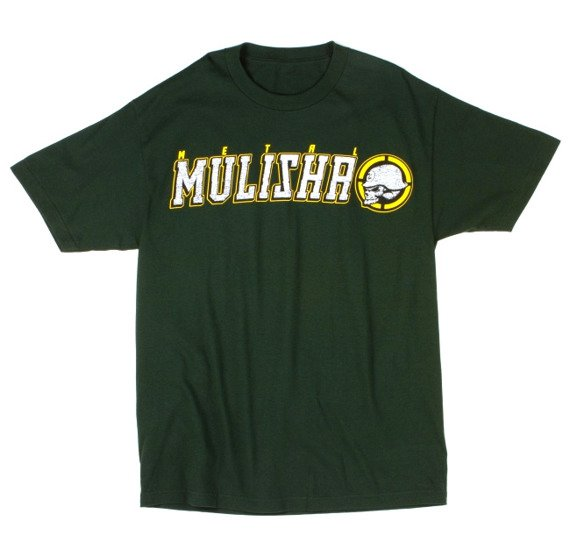 koszulka METAL MULISHA - CLEANUP zielona