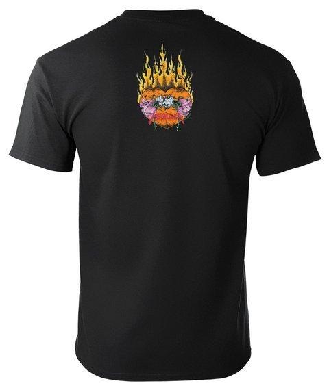 koszulka METALLICA - FLOWER SKULL