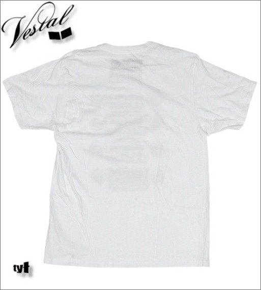 koszulka VESTAL - CAR RADIO (WHITE)