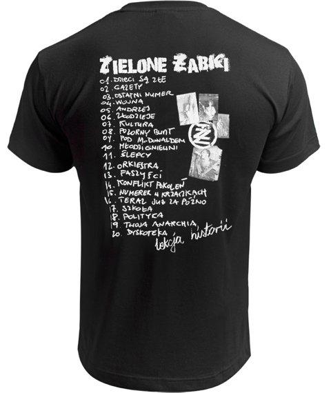 koszulka ZIELONE ŻABKI - LEKCJA HISTORII