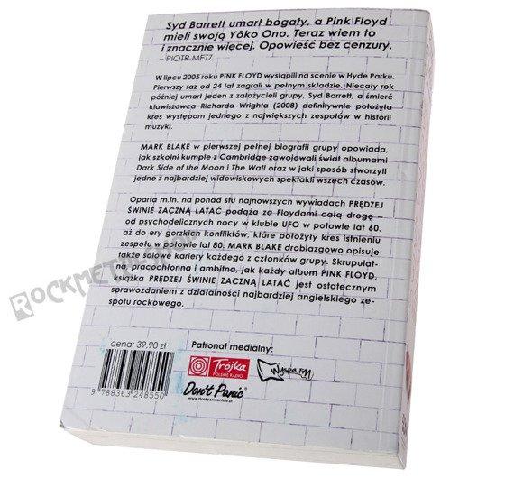 książka PINK FLOYD - PRĘDZEJ ŚWINIE ZACZNĄ LATAĆ autor: M. Blake