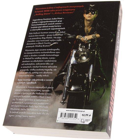 książka ROB HALFORD - WYZNANIE - AUTOBIOGRAFIA WOKALISTY JUDAS PRIEST