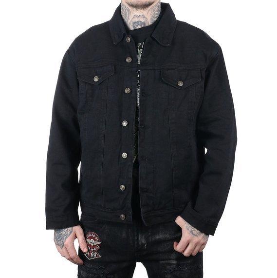 kurtka UNIK,  black jeansowa