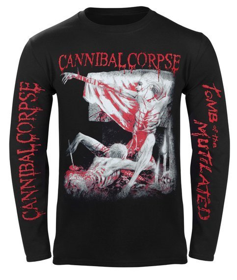 longsleeve CANNIBAL CORPSE - TOMB OF THE MUTILATED