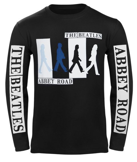 longsleeve THE BEATLES - ABBEY ROAD COLOURS CROSSING