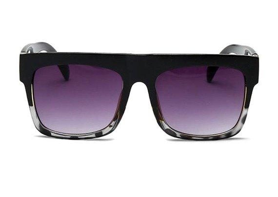 okulary KARDASHIAN BLACK WHITE