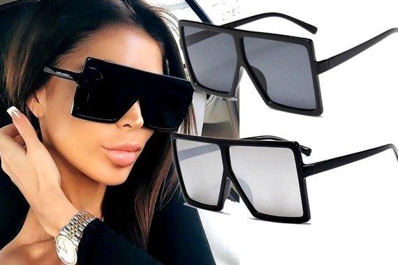 okulary RETRO VINTAGE BLACK