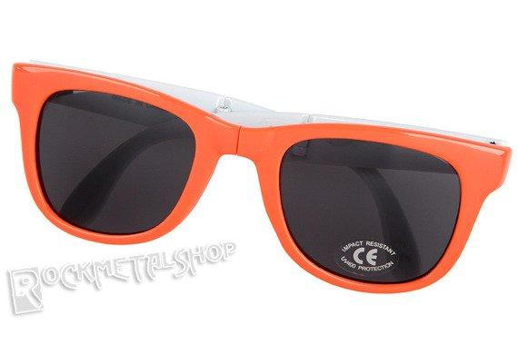 okulary VANS - FOLDABLE SPICOL LIVING CORAL składane