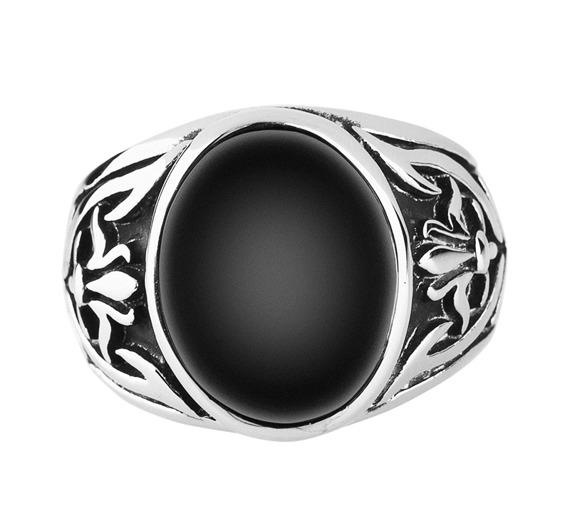 pierścień BIG BLACK