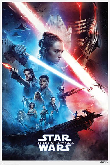 plakat STAR WARS: RISE OF SKYWALKER - SAGA