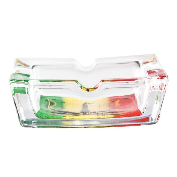popielniczka szklana TRAWKA 2
