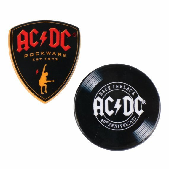 przypinki AC/DC - BACK IN BLACK......