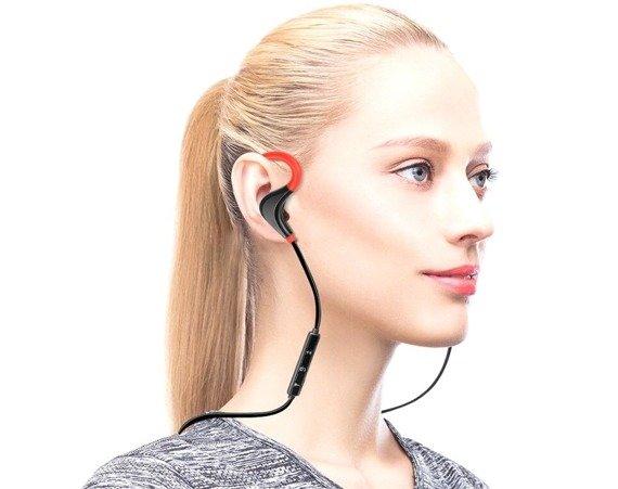 słuchawki bezprzewodowe BLUETOOTH ZAUSZNE 4.1, do biegania