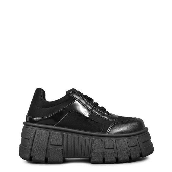 sneakersy ALTERCORE czarne (QUINN VEGAN BLACK)