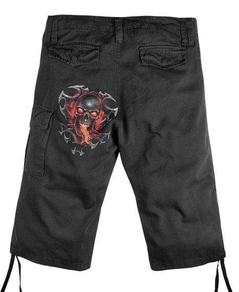 spodnie bojówki 3/4 FIRE DRAGON