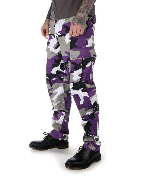 spodnie bojówki MMB US BDU HOSE LILA - CAMO
