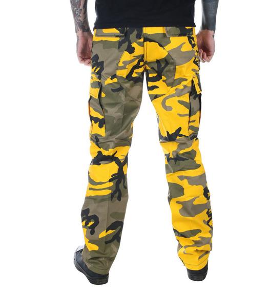 spodnie bojówki MMB US BDU HOSE YELLOW CAMO