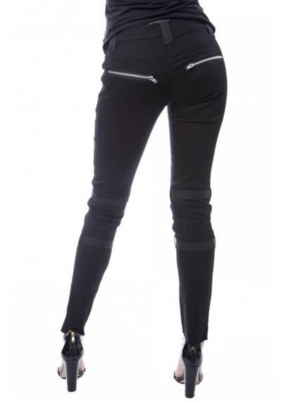 spodnie damskie CHEMICAL BLACK - JANE