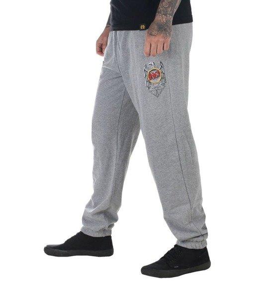 spodnie dresowe SLAYER - BRILLIANT ABYSS szare