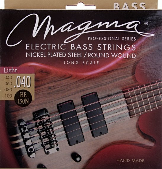 struny do gitary basowej MAGMA BE150N Nickel Plated / Light /040-100/