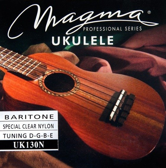 struny do ukulele barytonowego MAGMA BARITONE Clear Nylon