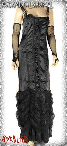sukienka HEAVEN SATIN BLACK (A-5-34-070-00)
