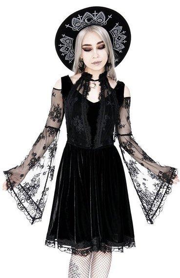 sukienka LAYERED LACE