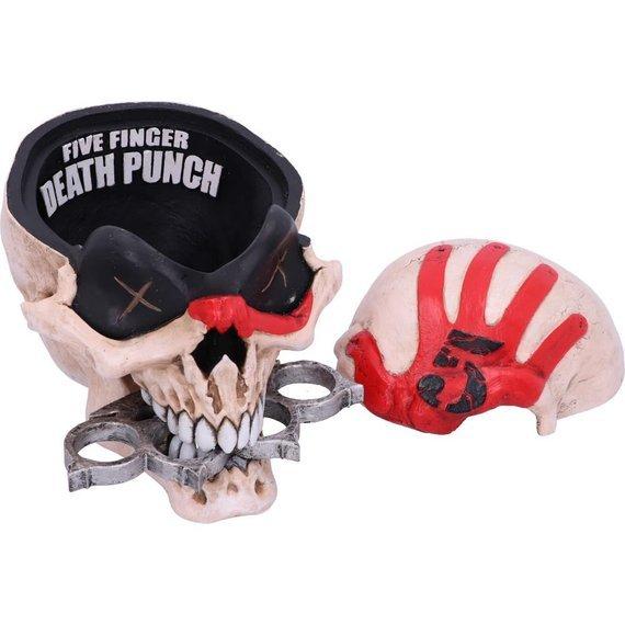 szkatułka/figurka FIVE FINGER DEATH PUNCH - SKULL