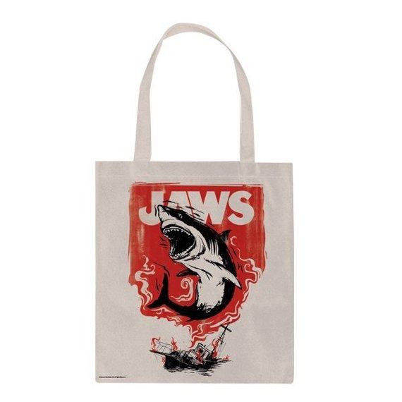 torba na ramię JAWS - FIRE płócienna
