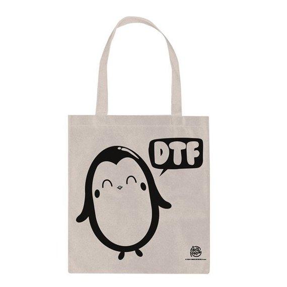 torba na ramię PENG-WIN - DTF płócienna