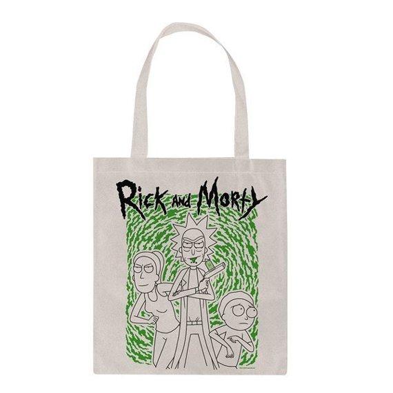 torba na ramię RICK AND MORTY - PORTAL płócienna