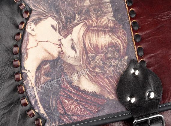 torba skórzana średnia VICTORIA FRANCES - KISS