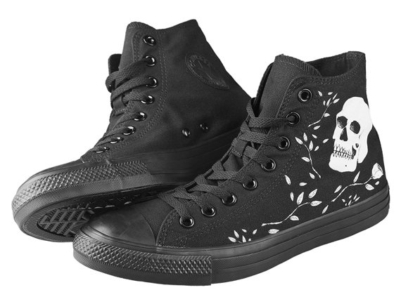 trampki CONVERSE(M3310) - REBEL SKULL BLACK BLACK