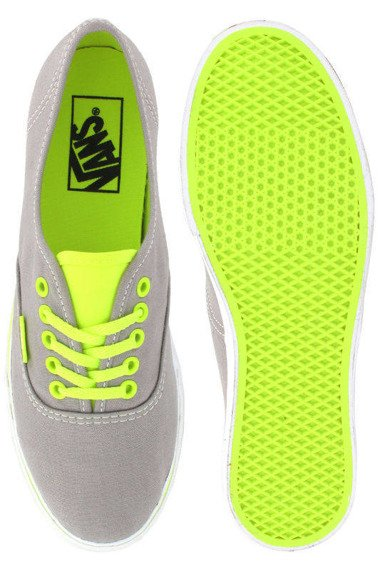 trampki damskie VANS  - AUTHENTIC LO PRO NEON GREY YELLOW