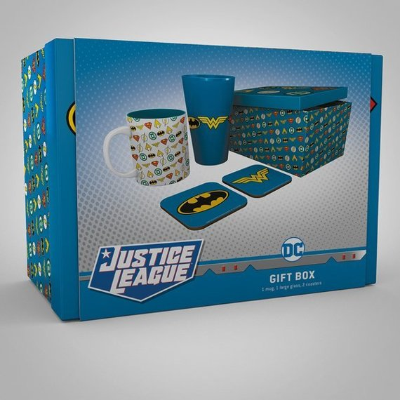 zestaw podarunkowy/gift box DC COMICS - LOGOS